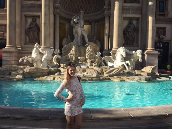 Fountain in Vegas